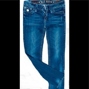 Womens rock revival jeans
